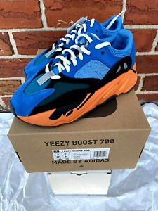 Adidas Yeezy 700 Bright Blue Size 5 Women 6.5 GZ0541 NEW Orange White Black 2021