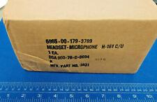 SONETRONICS H-161C/U HEADSET-MICROPHONE VINTAGE NEW  H-161 C/U