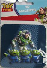 Toy Story * Buzz/Aliens * 3d * magnético aprox. 8 x 8,5 cm * Disney * nuevo (11)