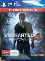 PS4 Game - Uncharted 4 A Thief's End Like New
