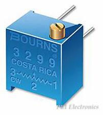 BOURNS   3299P-1-100LF   TRIMMER, POT, 10 OHM, 10%, 25TURN, TH