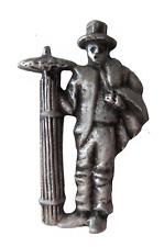 Chimney Sweep Pewter Pin Badge