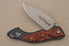 NIB FOX Knife - 432RA Elishewitz w/ Amboyna Wood & N690Co SS
