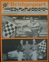 1991 Bridgeport Speedway Bandit Program Vol 9 #5 Toby Tobias Jr.