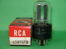 RCA 6SN7 GTB Vacuum Tube  Very Strong & Balanced Results = 2700|2610
