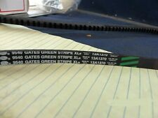 "Gates Green Stripe 9540 XL Notched Belt Fresh Stock (1/2""X54-3/8""O.D.) [F1S3]"