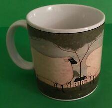 Sakura NY Animal Collection Warren Kimble 2000 Sheep Coffee Cup/ Mug Collectible