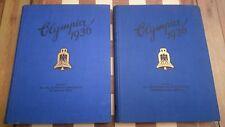 Olympia 1936 OLYMPIC CIGARETTE CARD 2 VOLUME Cigaretten Bilderdienst Band 1 & 2