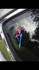 Rainbow Tie-dye Firedancer Vinyl Decal Sticker
