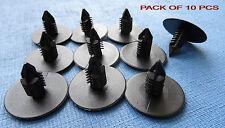 10PCS MG SCHWARZ Tanne Innentür Karten Panel Form Plastik Rand Klemmen
