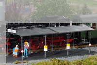 PIKO G SCALE COVERED STATION PLATFORM KIT | SHIPS IN 1 BUSINESS DAY | 62004
