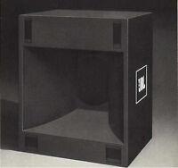Speaker Plans for a JBL 4560A Bass Bin