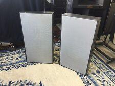 Vintage Rare Pair 1960's Braun model L 46 Flat HiFi Speakers