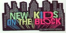 1990s New Kids On The Block Large City Skyline Patch Ec