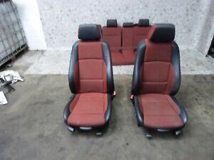 Sitzgarnitur Sitze Sitz Teilleder 95Tkm BMW E87 187 116i 116 09.1392.070
