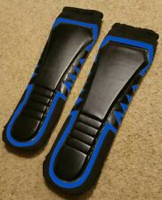 KICKPADS Lowki Style Wrestling Gear Black with Blue Outline FREE Carrying Pouch