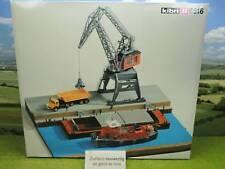 Kibri 8516 H0 Bausatz Diorama Umschlag Kai mit Portalkran OVP TOP (PB) E1424