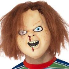 Déguisement Halloween sous Licence Enfant Jeu 2 Chucky Masque avec Cheveux Par