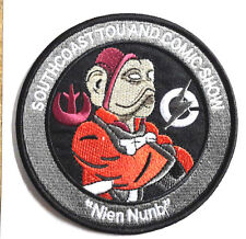 """Star Wars 4"""" Nien Numb Southcoast Comic Com Promo Patch- FREE S&H (SWPA-KL-12)"""