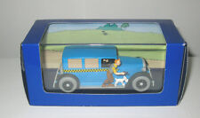 Tintin Car from Book Le Taxi Checker 1929  with Figures
