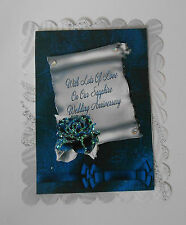 2 pack love in our sapphire wedding filler framework for cards/