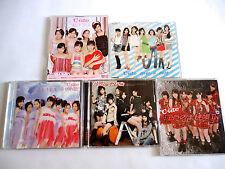 C-ute lot of 5 Maxi CD Single EP JAPAN L/E DVD Lalala Namida no iro Tokaikko