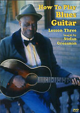 How To Play Blues Guitar Lesson 3 Learn Delta Beginner Tutor Easy Music DVD