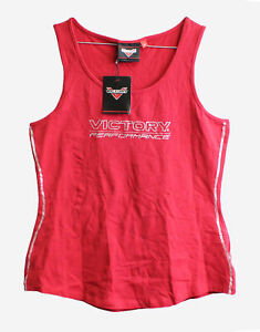Genuine Victory Motorcycles Women's Stripe Tank Size L 286630806