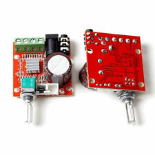 12v Mini Hi-fi Pam8610 2x10w D Class Audio Stereo Amplifier Board Dual Channel