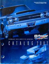 Vintage 2002 Mopar Performance Parts Catalog