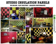 Sound Studio Insulation Pyramid Foam Proofing Acoustic Panels Soundproofing 50mm