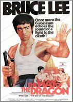 8x10 Print Bruce Lee The Way of the Dragon 1974 #BL9834