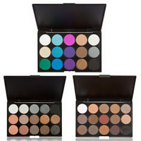 Professional Shimmer Matte Eye Shadow Palette Cosmetic Eyeshadow 15 Colors/Set