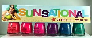 China Glaze Nail Polish Sunsational - Jellies 6 Lacquers Original Packaging