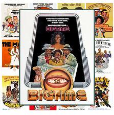 "Mini Posters [13 posters 8""x11""/A4] Blaxploitation Action Movie Vintage MP467"