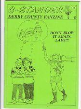 C-Stander no 5 Derby County Fanzine