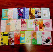 Hallmark Cards - Lot Of 25 Assorted Greeting Cards w/Envelopes Multiple Types!