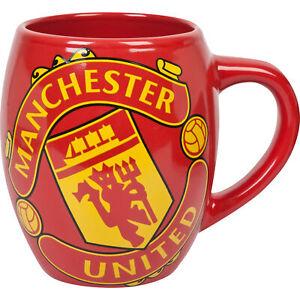 Manchester United Tea Tub Mug Home Office Coffe Tea Football Sports