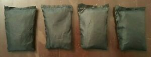 Ankle/Wrist Weight Weighted Vest 1 LB Inserts Unbranded Lot of 4 FREE SHIPPING!!