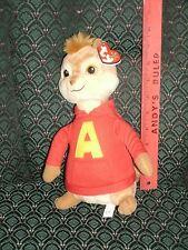 TY ALVIN the Chipmunk Buddy (Medium)* (Alvin & the Chipmunks Movie) MWMT
