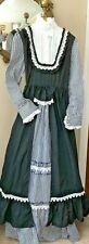 Civil War reenactment dress Pioneer Wild West New Black & White size Xl 12-14