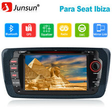 "Junsun 2 Din 7"" Radio DAB+ GPS De Coche Bluetooth RDS para Seat Ibiza 2009-2013"