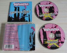 VERSION 2 CD ALBUM NEVER TRUST A LIVE ! - LES WAMPAS