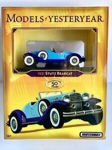 Matchbox Models of Yesteryear 1931 Stutz Bearcat Mattel 2006 Stunning!