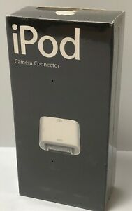 *Sealed* Apple Camera Connector For iPod - P/N: M9861G/B   MV2686