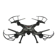 Black X5SW-1 4-CH 6-Axis Quadcopter Drone WIFI 2MP HD  Camera FPV RC Helicopter