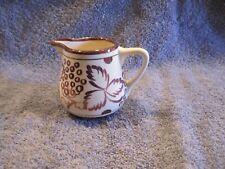Vintage Gray's pottery Stoke-On-Trent Grape Pattern Creamer