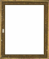 For Restoration Late 19th Century Picture Frame - Gilt Wooden Frame