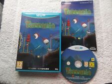 TERRARIA NINTENDO Wii U V.G.C. FAST POST ( action/adventure game )