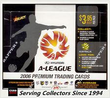 2006-07 Select Inaugural A League Soccer Trading Card Factory Box (32 packs)